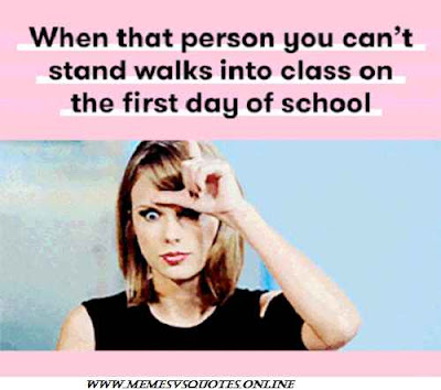 Stand Walk Into Class