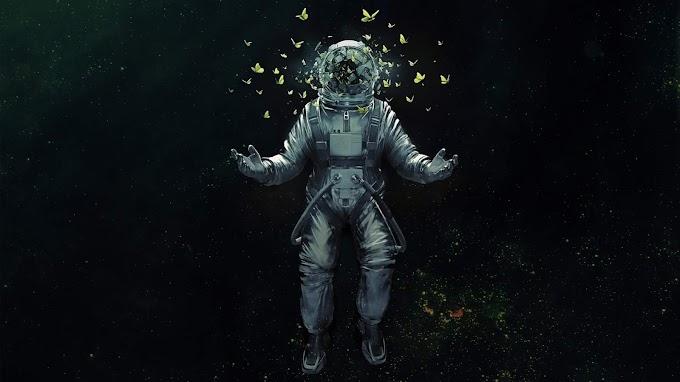 Plano de Fundo Astronauta Tumblr