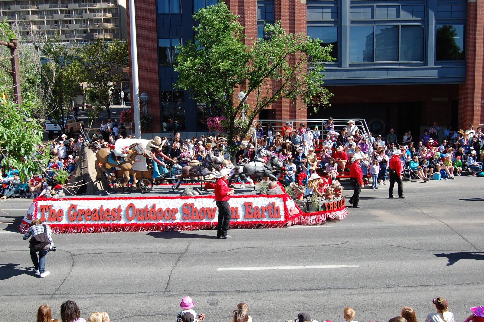 Kid Calgary Calgary Stampede Parade 2011