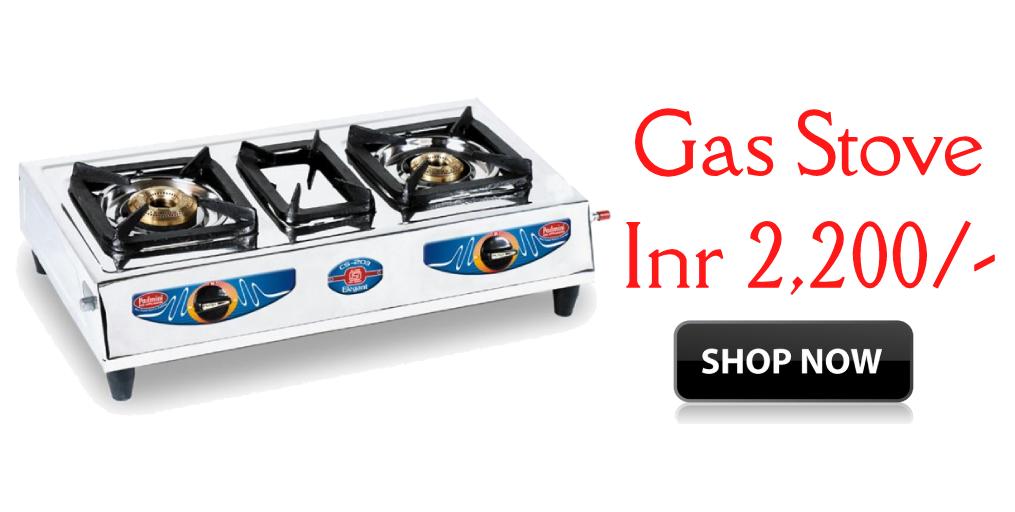 e5ea99091 Dealsothon-Padmini 2 Burner Gas Stove CS-203 In Silver