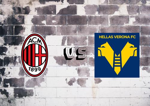 Milan vs Hellas Verona  Resumen y Partido Completo
