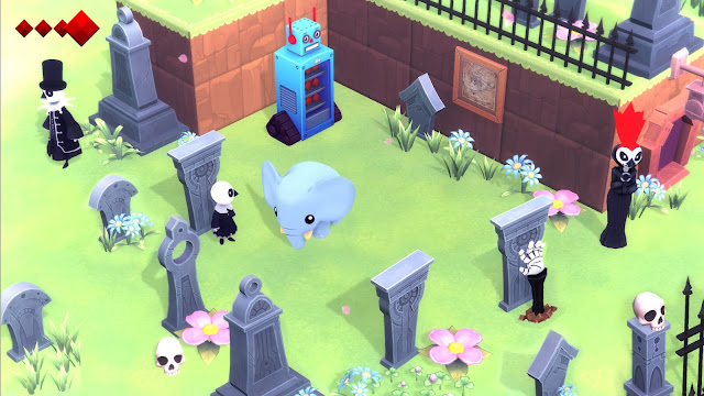 Análisis Yono and the celestial Elephants en Nintendo Switch.