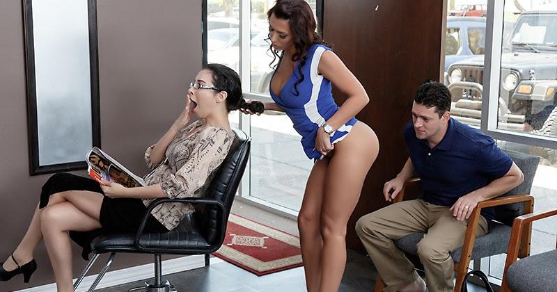 Brazzers порно фото парик макер