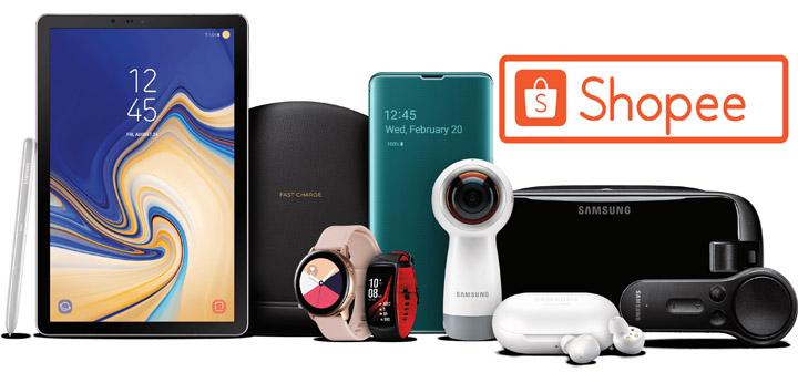 Shopee dan Samsung Electronics