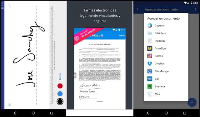 5 تطبيقات لتوقيع مستنداتك من هاتفك المحمول