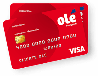 Cartão de crédito Olé