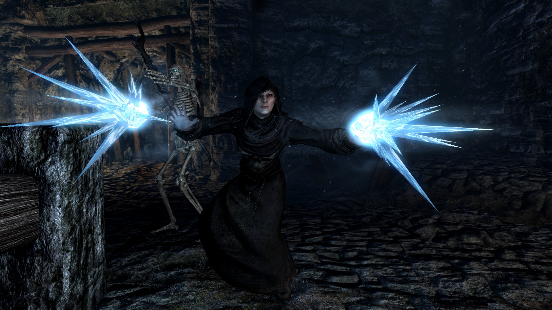 A 5.6 GB mod for Skyrim changes all dungeon textures