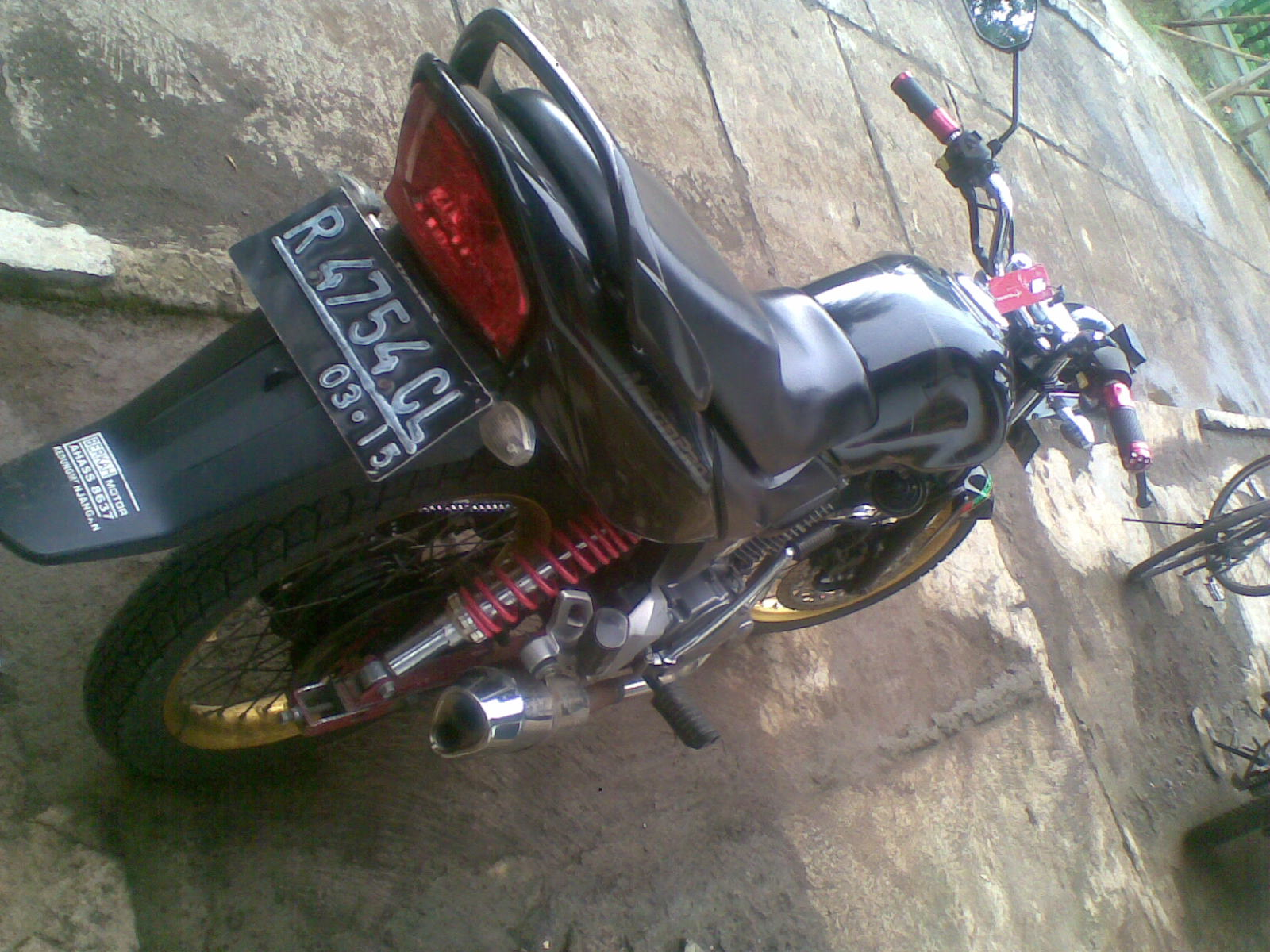 Modifikasi Honda Mega Pro MotorMotif