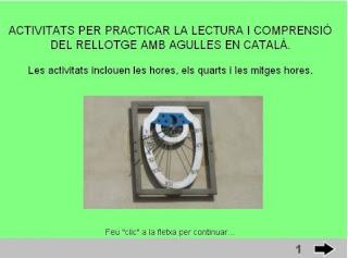 http://www.xtec.cat/~ivilater/enlinia/hores1/hora1.html