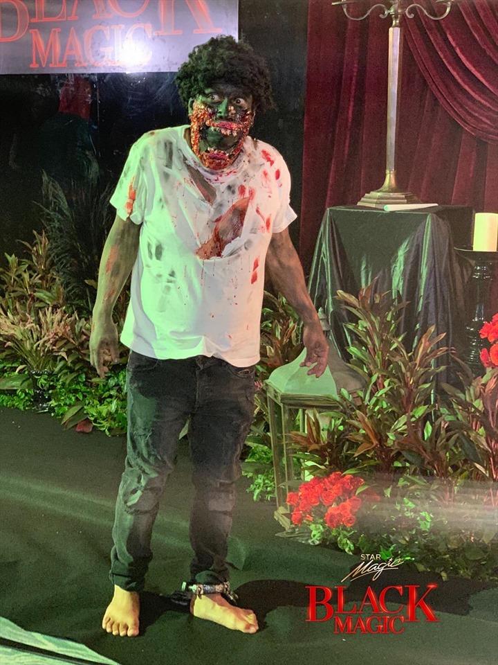 Eric Nicolas Black Magic Halloween Party 2019