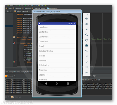Android Studio - ListView