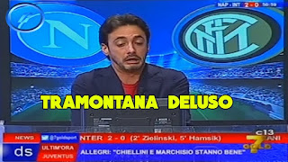 Napoli Inter 3-0 commento Tramontana Direttastadio serie A video