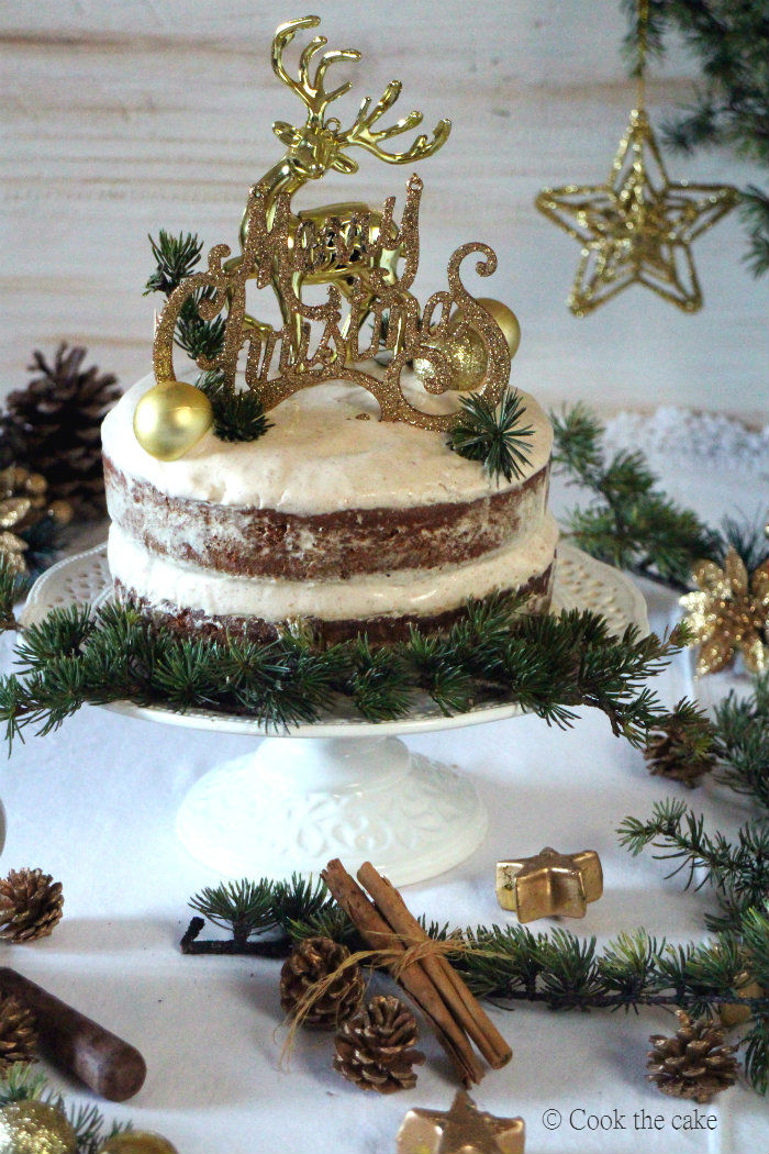 gingerbread-cake, naked-cake, bizcocho-de-jengibre
