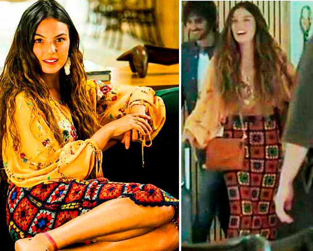 Saia Hippie da Ritinha