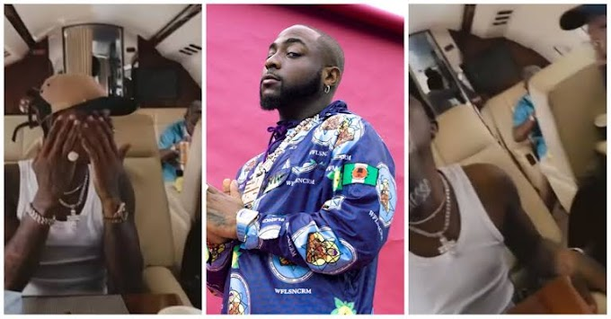 Davido Shares Video Of Wizkid Vibing To His Song