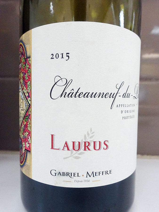 Gabriel Meffre Laurus Châteauneuf-du-Pape 2015 (92 pts)