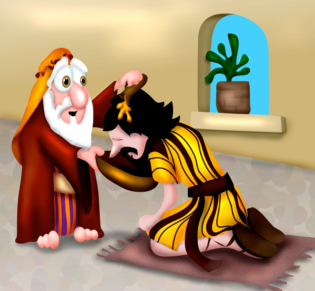 Mr Biblehead Saul Is Anointed And Crowned King 1 Samuel