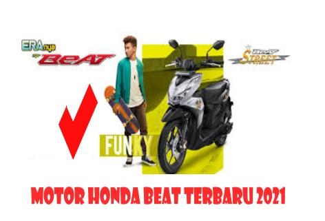 Motor Honda Beat Terbaru 2021