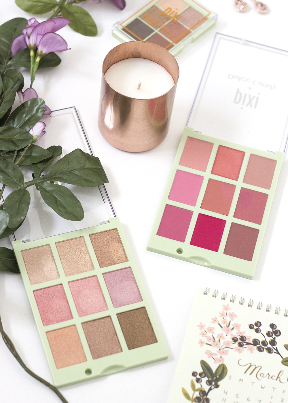 Pixi Beauty Dulce Candy Cafe Con Dulce & Dulce's Lip Candy Palettes
