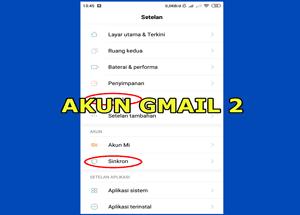 Cara Membuat 2 Akun Gmail Di Android Menambah Email Lain Ke Hp Cara Daftar Buat Bikin Baru