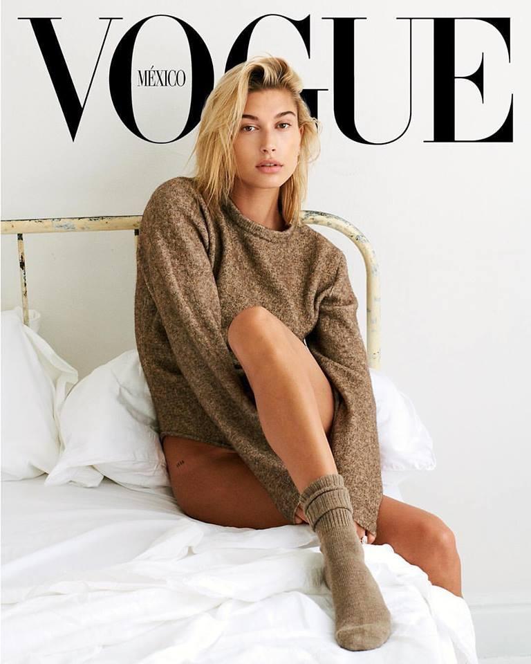 Hailey Baldwin for Vogue Mexico September 2018