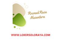 Lowongan Kerja Solo Bulan Agustus 2021 di Roemah Rasa Nusantara