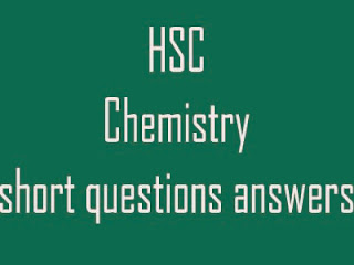 Chemistry short question answer in bd