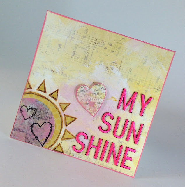 sunshine greeting card lisa fulmer