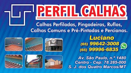 PERFIL CALHAS