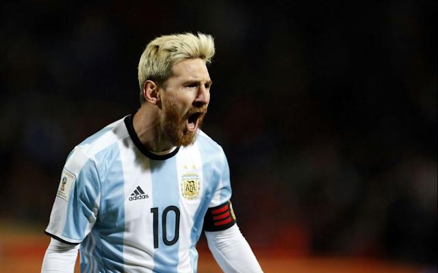 Eliminatorias para Rusia 2018. Messi-argen