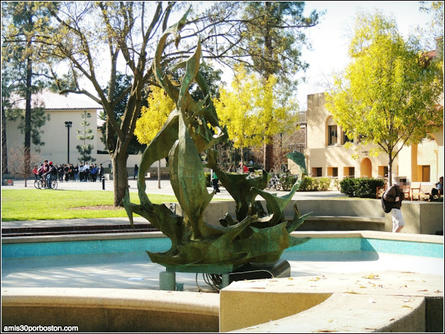 Memorial Fountain, Universidad de Stanford