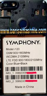 Barisal Flash File Care: SYMPHONY i120 MT6739 OREO 8 0