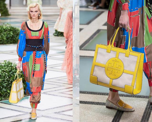 Модное шоу Tory Burch весна-лето 2020 5