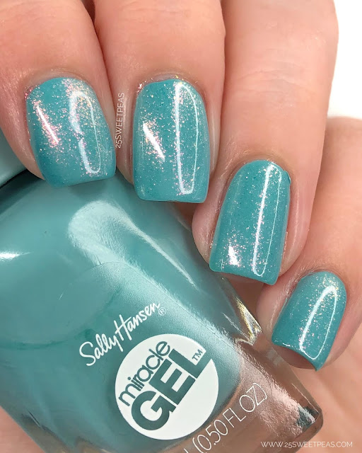 Sally Hansen Lets Get Digital 25 Sweetpeas