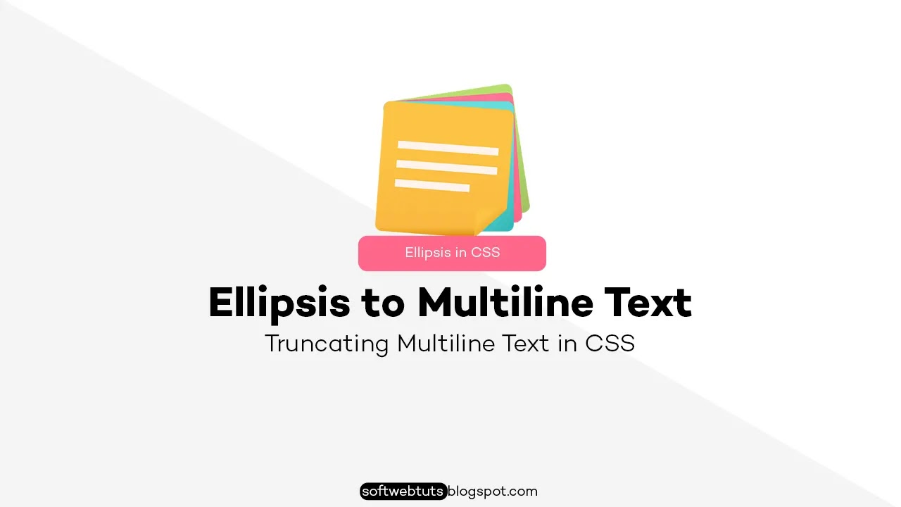 How to add Ellipsis to multiline text in CSS