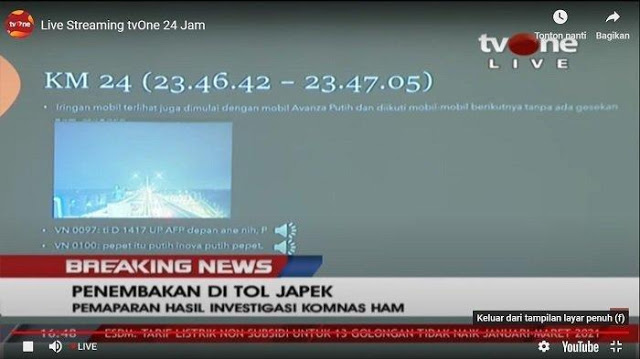 Temuan Komnas HAM: Polisi Ambil Kamera CCTV di Tol Jakarta-Cikampek KM 50