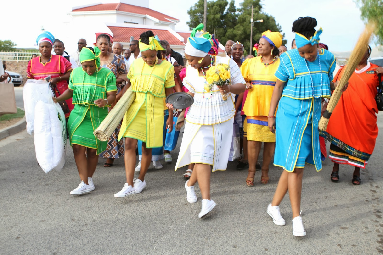 Pedi Meets Xhosa: Pedi Bride Being Welcomed Into A Xhosa