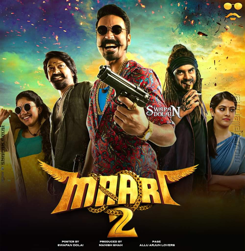 Maari 2 (2019) Hindi Dubbed Full Movie 720p HD Download