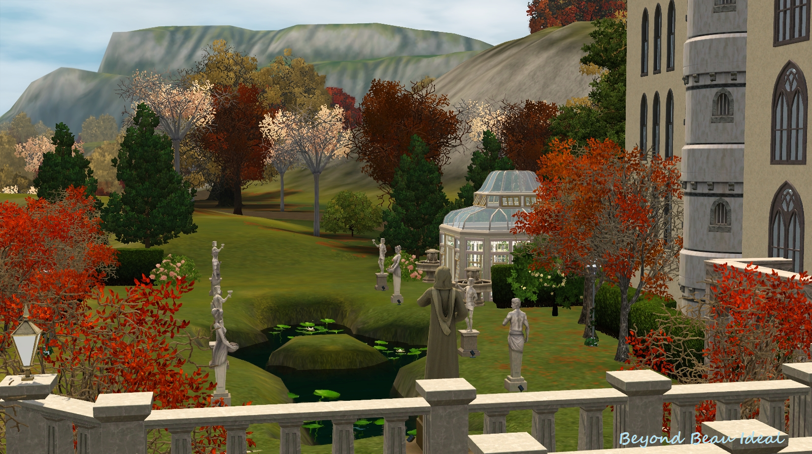 Share your dream castle here ! My creation TS3 : New Swanstone ...