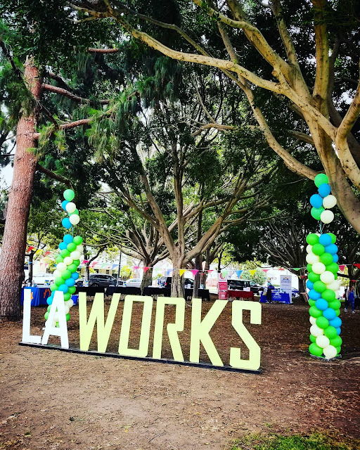 LA Works volunteering to end homelessness in Culver City, California
