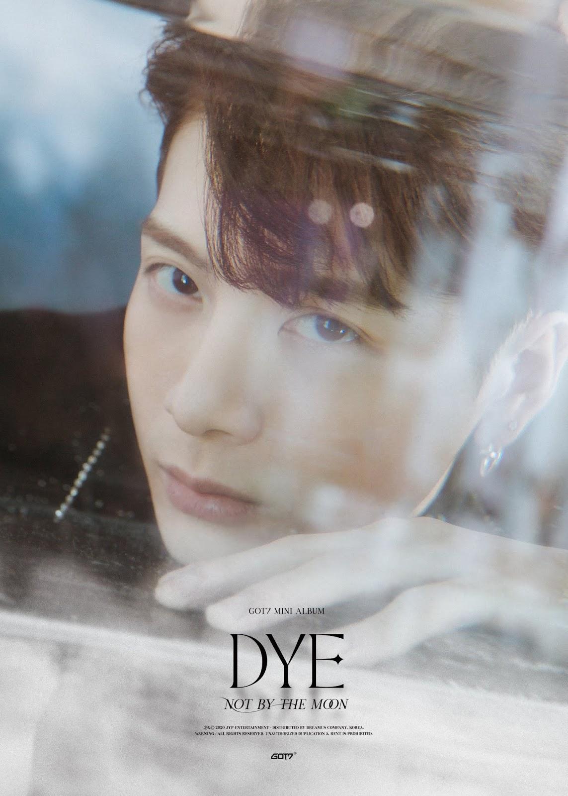 GOT7 DYE Album Photo Collection
