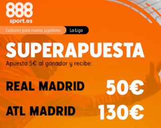 888sport superapuesta liga Real Madrid vs Atletico 1 febrero 2020