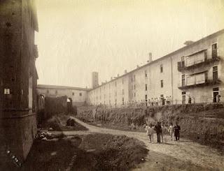 castello sforzesco milano ghirlanda austriaci caserma