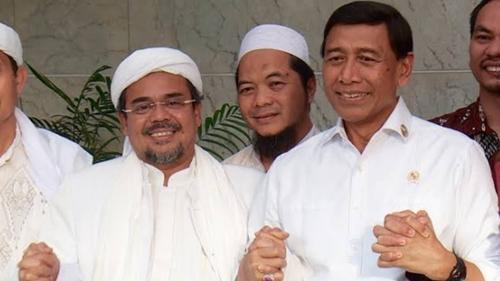 Singgung Soal Pengkhianatan, Rizieq Ngaku Dihubungi Wiranto di Saudi hingga Beber Kesepakatan Dukung Jokowi