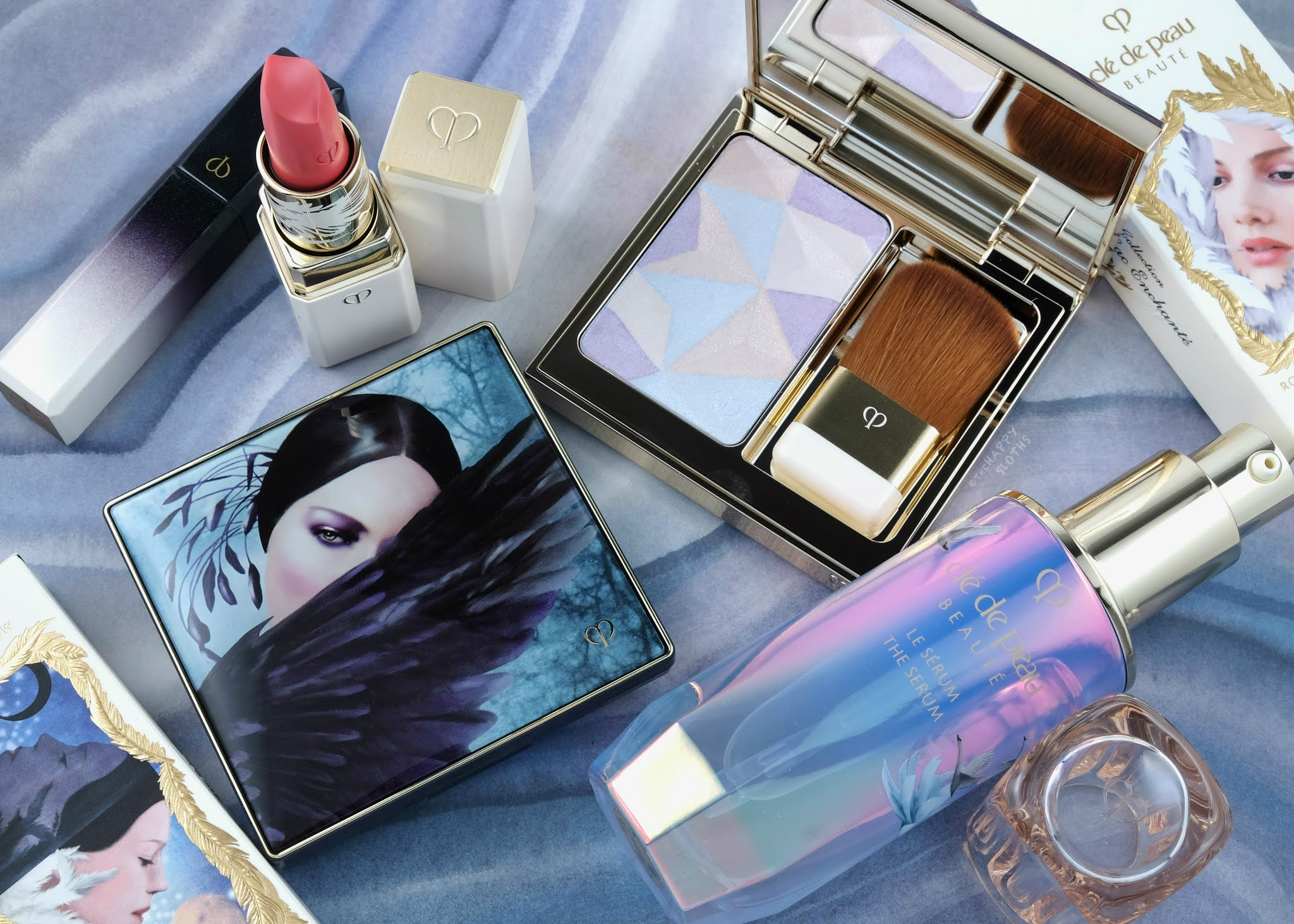Clé de Peau Beauté | Holiday 2020 The Enchanted Lake Collection: Review and Swatches