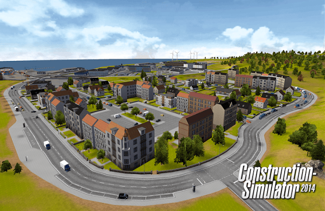 Gameplay of Construction simulator 2014