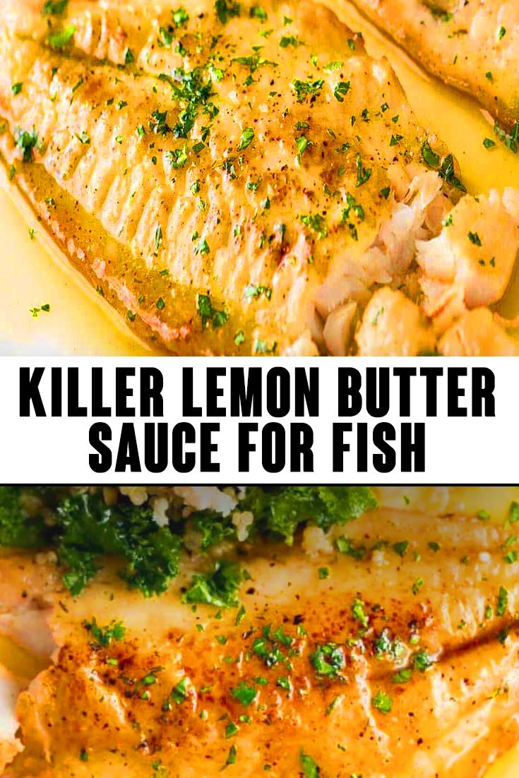 Killer Lemon Butter Sauce for Fish Recipe