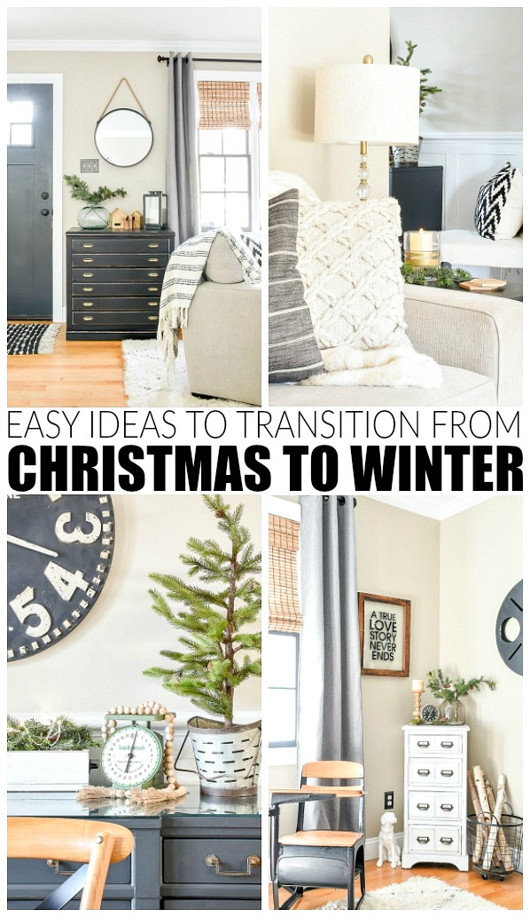 Easy ideas to help transition from winter to Christmas