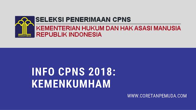 Pengumuman Hasil Tes CAT SKD KEMENKUMHAM CPNS 2018 - Kementerian Hukum dan HAM