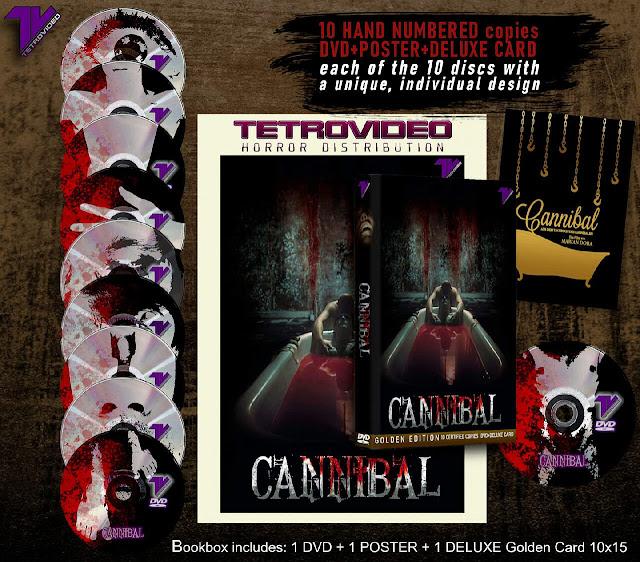 TetroVideo anuncia tres ediciones DVD coleccionista de 'Cannibal' (2006)